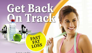 weight loss back on track