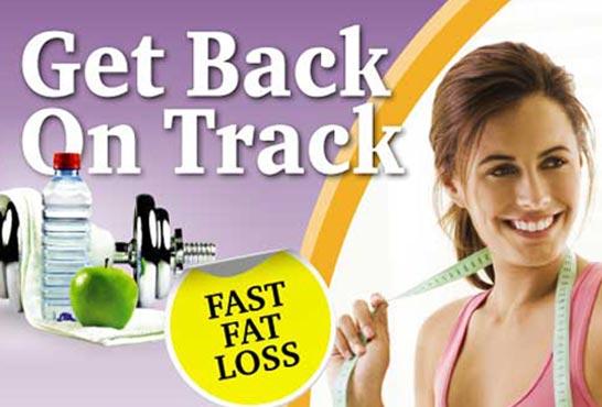 فقدان الدهون العودة إلى المسار الصحيح