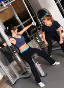 Women personal training dubai